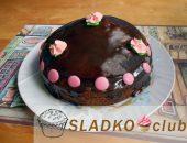 Миниатюра к статье Лучшие рецепты торта «Пьяная вишня»