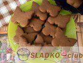 Миниатюра к статье Шоколадное песочное печенье на смальце