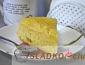 Миниатюра к статье Пирог-перевертыш с консервированными ананасами