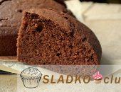 Как быстро и просто испечь бисквит из шоколада
