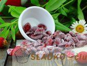 Как дома сделать натуральные клубничные цукаты