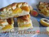Миниатюра к статье Сочный пирог с абрикосами: топ-10 лучших рецептов