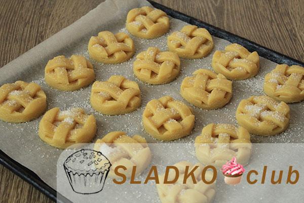 Сахарное печенье — пошаговый рецепт с фото