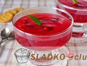 Миниатюра к статье Кисель из свежей, замороженной или консервированной вишни