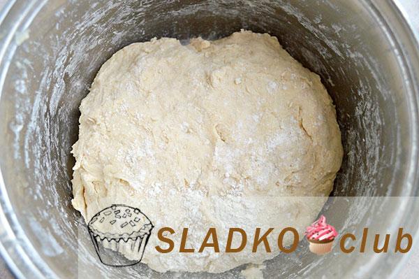 Тесто для креблей на кефире в хлебопечке - рецепт пошаговый с фото