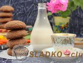 Миниатюра к статье Шоколадное печенье с арахисовой пастой внутри