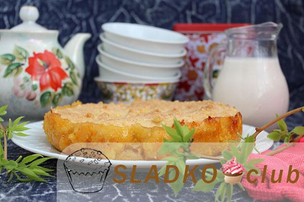 Готовим лимонный пирог по простому рецепту