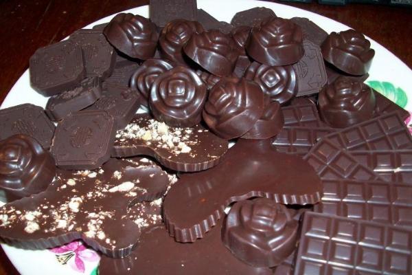 Домашний соленый шоколад