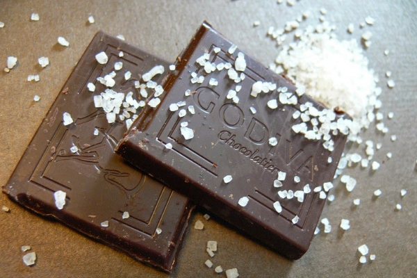 Особенности соленого шоколада