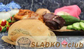 Миниатюра к статье Домашний хлеб на кефире без дрожжей в духовке