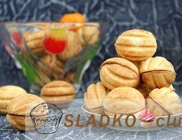 Печенье Орешки со сгущенкой по классическому рецепту в домашних условиях
