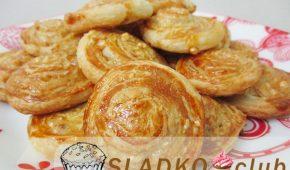 Миниатюра к статье Ореховое печенье «Ракушки» и другие рецепты из слоеного дрожжевого теста