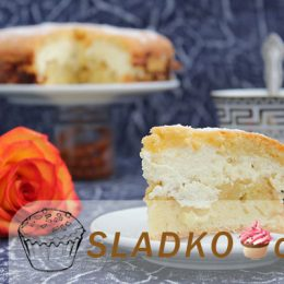 Приготовить пирог с творогом и яблоками легко и просто