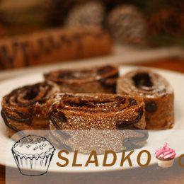 Как сделать самостоятельно бисквитный рулет с шоколадом