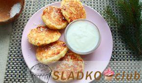 Миниатюра к статье Вкусные сырники с кокосовой стружкой на сковороде